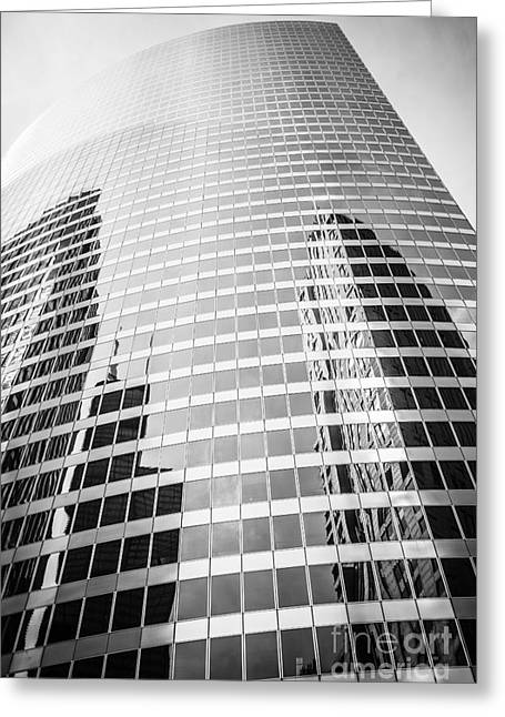 Chicago Hyatt Center Building Architecture Greeting Card by Paul Velgos