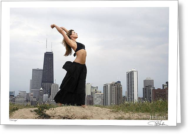 Chicago Greeting Card by JR Harke Photography