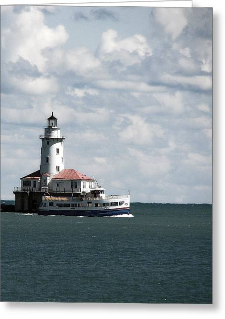 Chicago Lighthouse Greeting Card