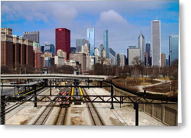 Chicago Metro Greeting Card