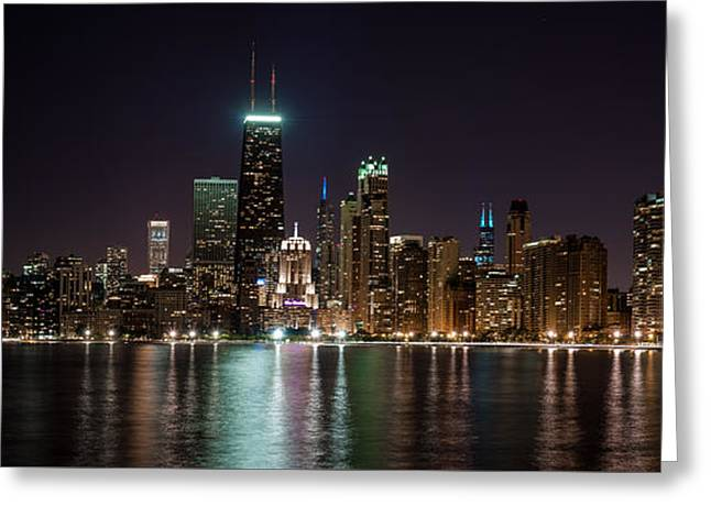 Chicago North Lakeshore Drive  Greeting Card