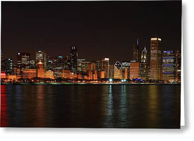 Chicago Panoramic Greeting Card