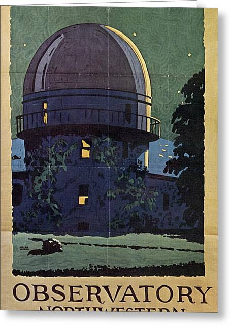 Chicago Poster, 1925 Greeting Card