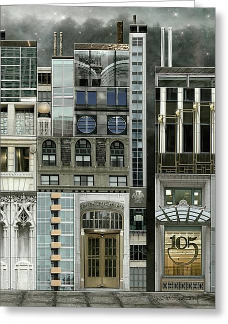Chicago Reconstruction 1 Greeting Card