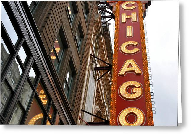 Chicago Greeting Card by Sheryl Thomas