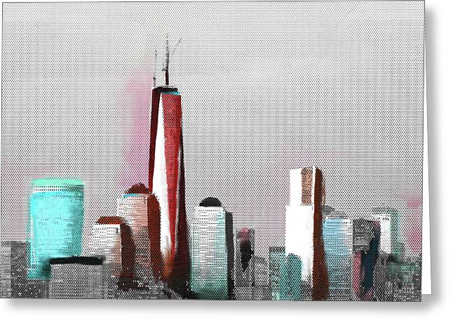 Chicago Skyline 651 2 Greeting Card