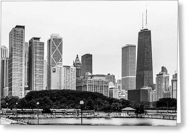 Chicago Skyline Architecture Greeting Card