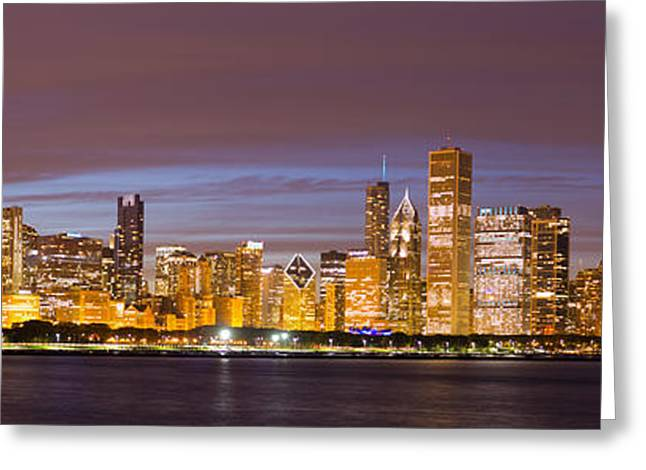 Chicago Skyline From Adler  Greeting Card by Twenty Two North Photography