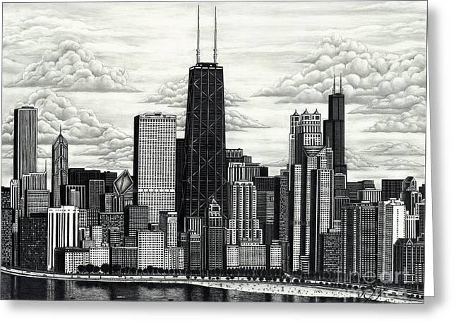 I Love Chicago Volume 1 Greeting Card
