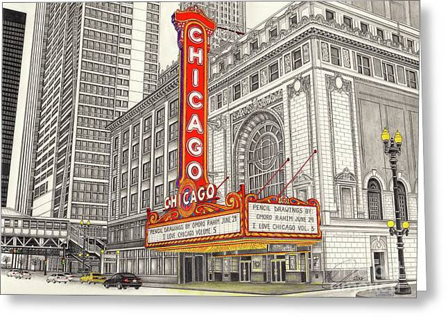 Chicago Theater Greeting Card