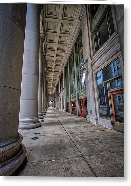 Chicago Union Station Entrance Greeting Card