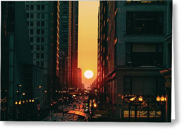 Chicagohenge Greeting Card