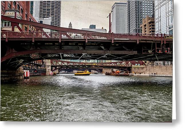 Chicago's Bridges Greeting Card