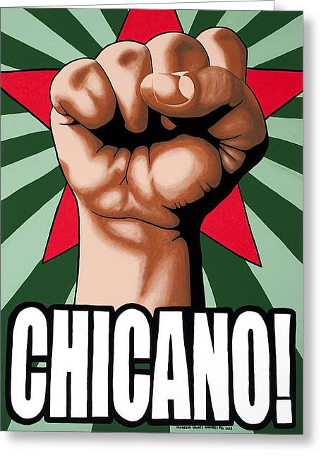 Chicano Greeting Card