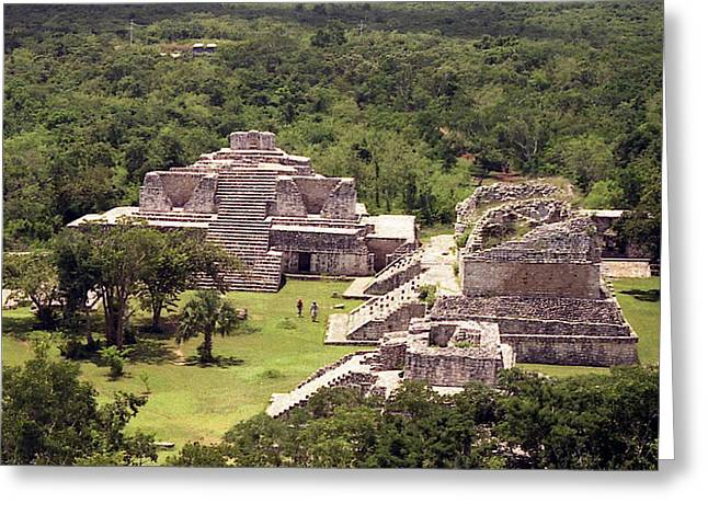 Mayans Greeting Cards - Chichen Itza Greeting Card by Michael Peychich