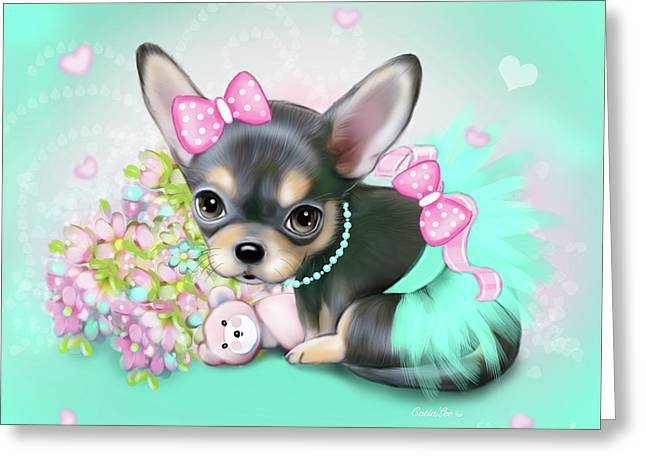 Chichi Sweetie Greeting Card