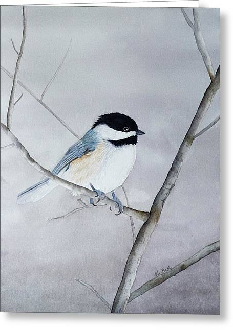 Chickadee II Greeting Card