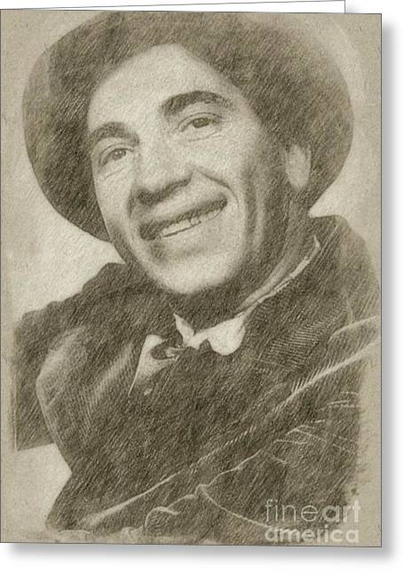 Chico Marx, Comedian And Actor Greeting Card