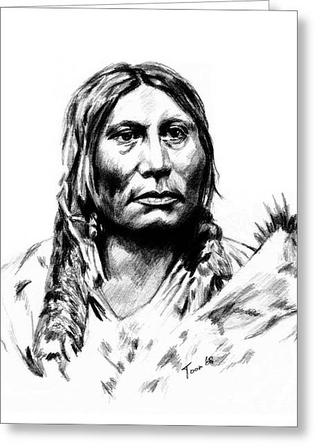 Chief Gall Greeting Card