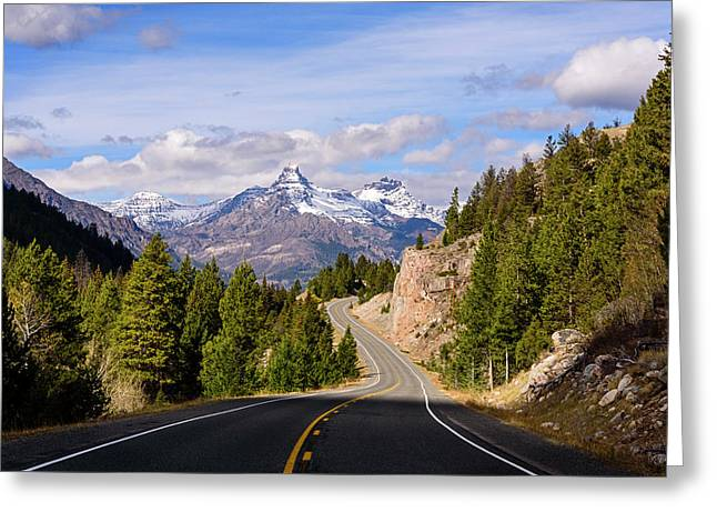 Chief Joseph Scenic Highway Greeting Card