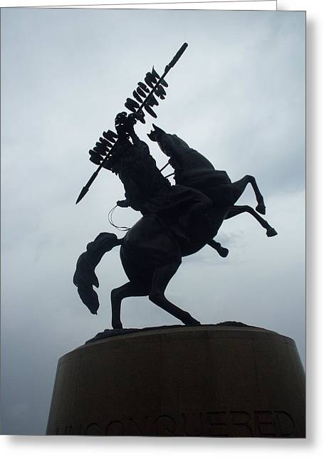 Chief Osceola Statue Greeting Card