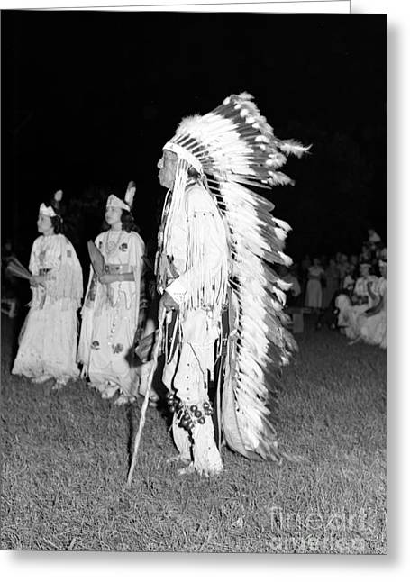Chief  Red Bird Greeting Card