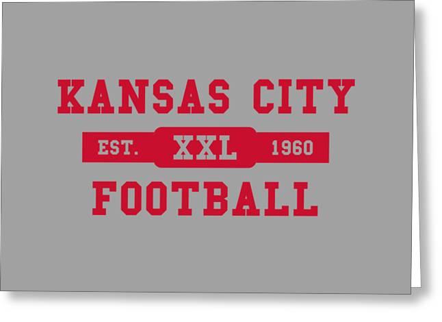 Chiefs Retro Shirt Greeting Card