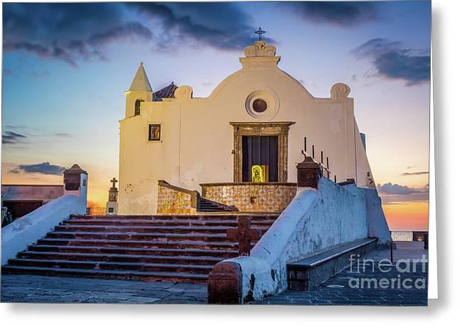 Chiesa Del Soccorso On Ischia Greeting Card