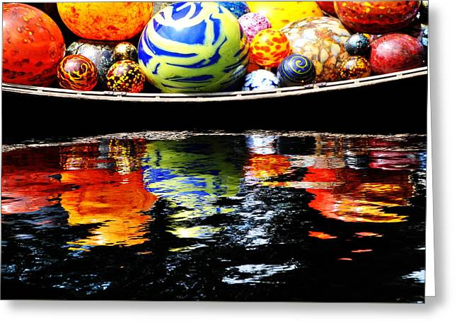 Chihuly 10 Detail Greeting Card