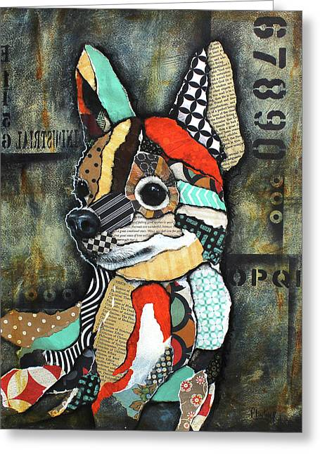 Chihuahua 2 Greeting Card by Patricia Lintner