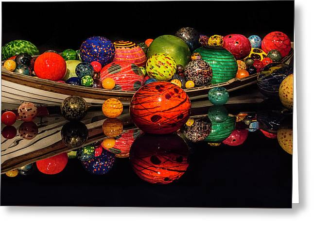 Chihuly Reflection Greeting Card