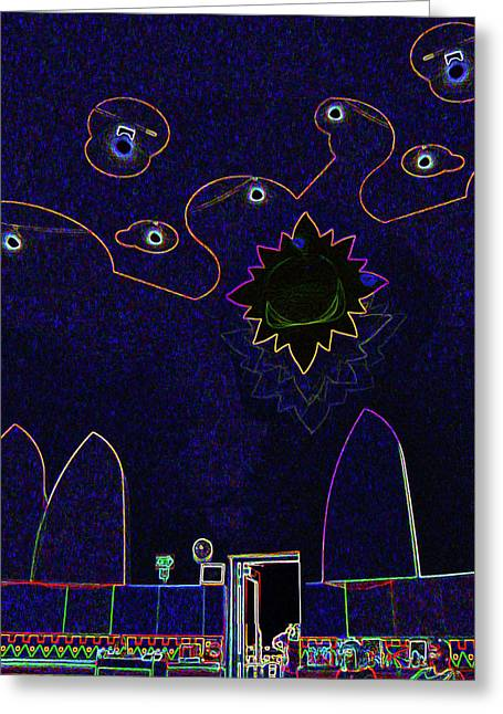 Child Art 3 Greeting Card by Bruce Iorio