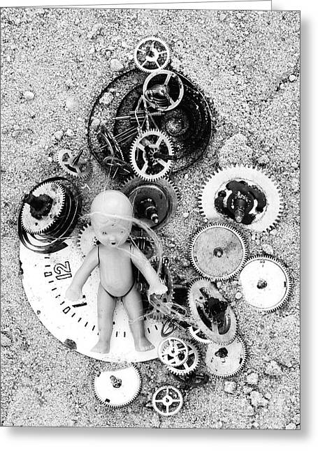 Child In Time Greeting Card by Michal Boubin