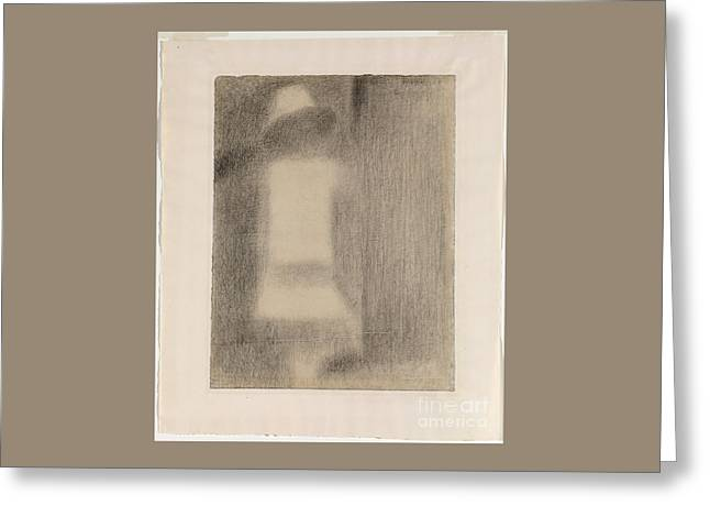 Child In White Greeting Card by Art Anthology