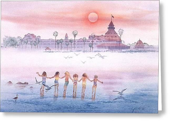 Childhood Memories Greeting Card by John YATO