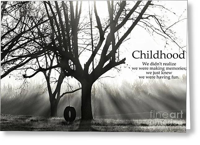 Childhood Remembered Greeting Card