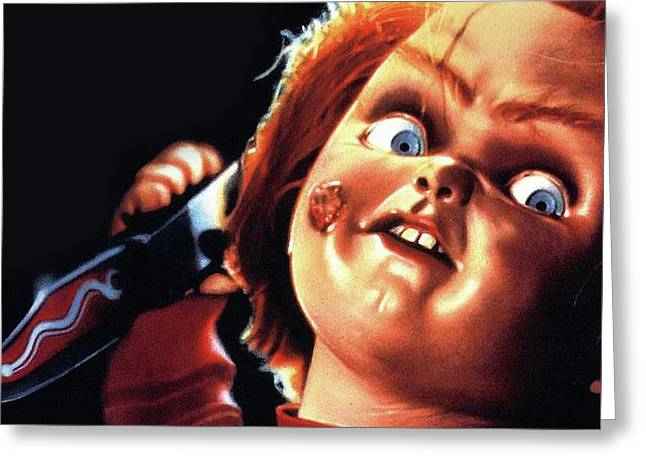 Childs Play 1988 Greeting Card