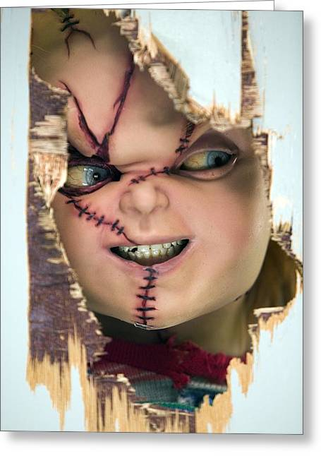 Childs Play 5 Seed Of Chucky 2004 2 Greeting Card