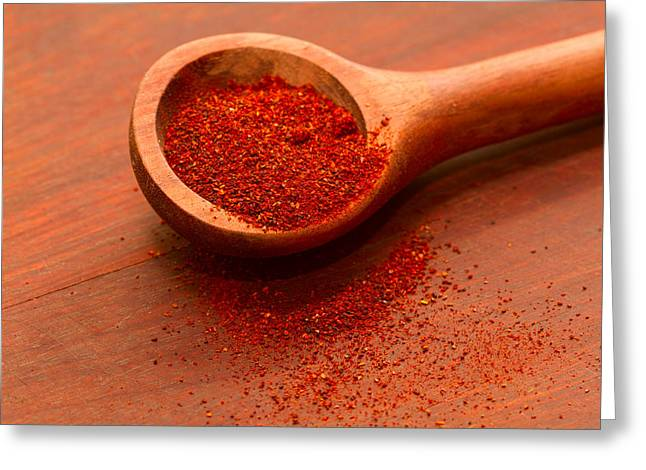 Chili Powder Greeting Card by Louise Heusinkveld