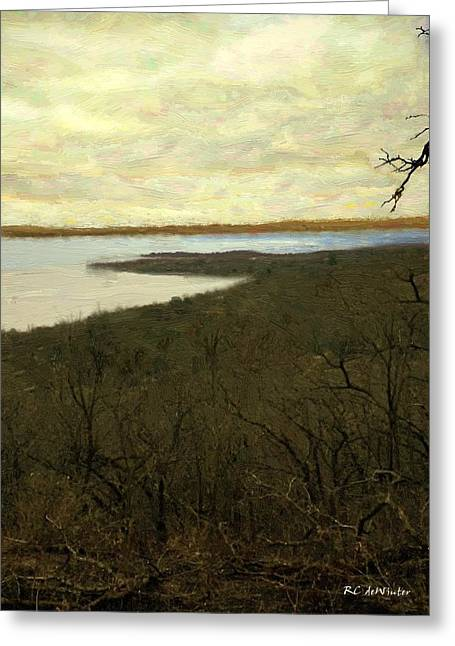 Chill Spring Greeting Card by RC deWinter