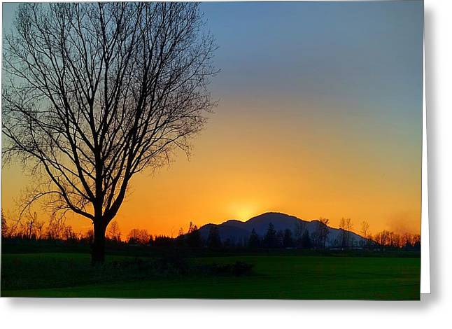 Chilliwack, British Columbia Greeting Card by Heather Vopni