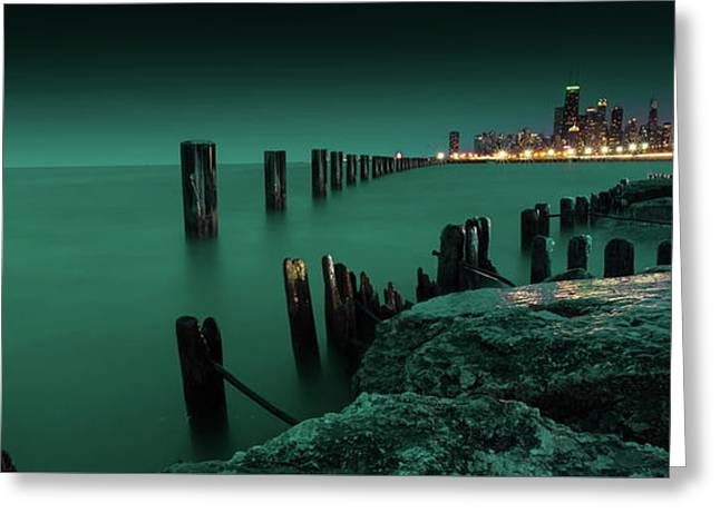 Chilly Chicago Greeting Card