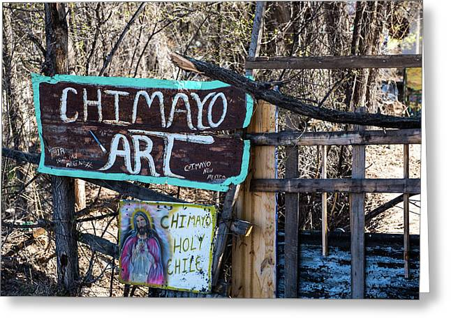 Chimayo Art Greeting Card