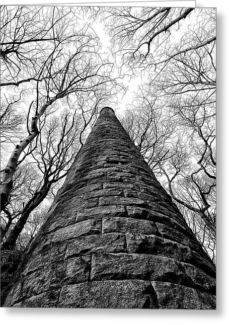 Chimney In Trees Greeting Card