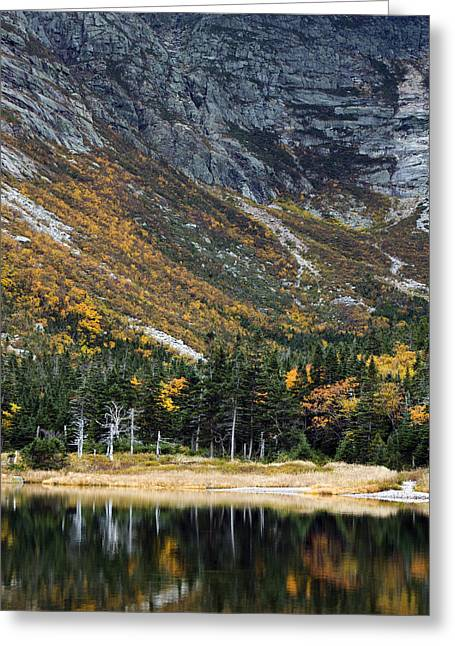 Chimney Pond Baxter State Park Maine  Greeting Card by Brendan Reals