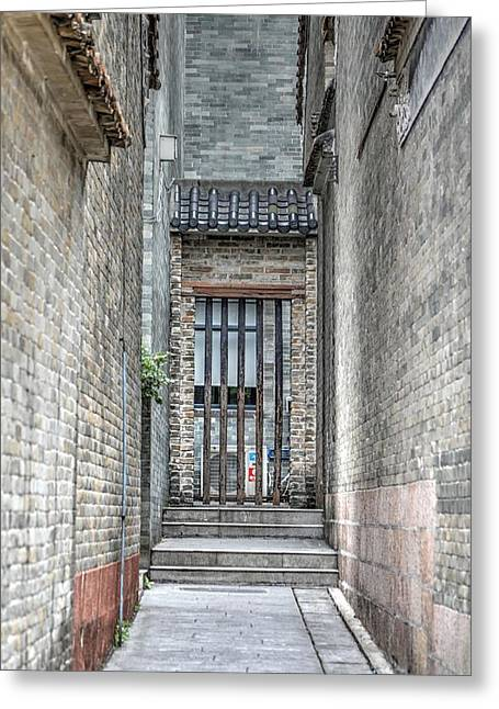 China Alley Greeting Card