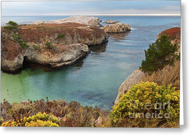 China Cove Greeting Card by Yair Karelic