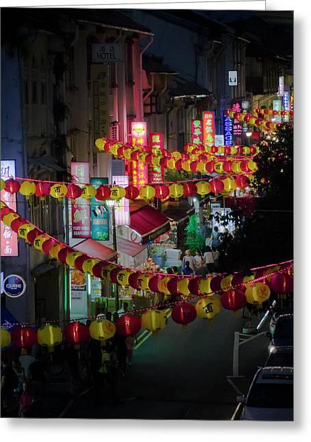 China Town Greeting Card