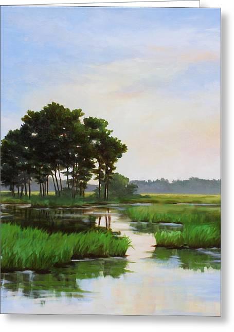 Chincoteague Marsh Greeting Card
