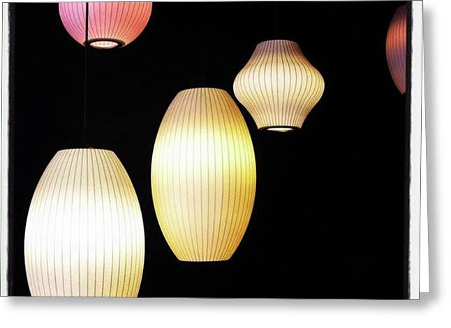 Chinese Lanterns In London  #chinatown Greeting Card